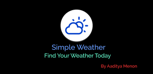Announcing Simple Weather v2.0