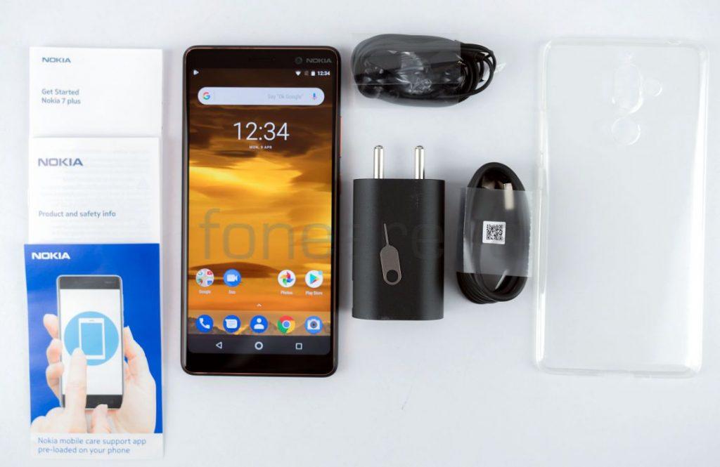 Nokia 7 Plus contents